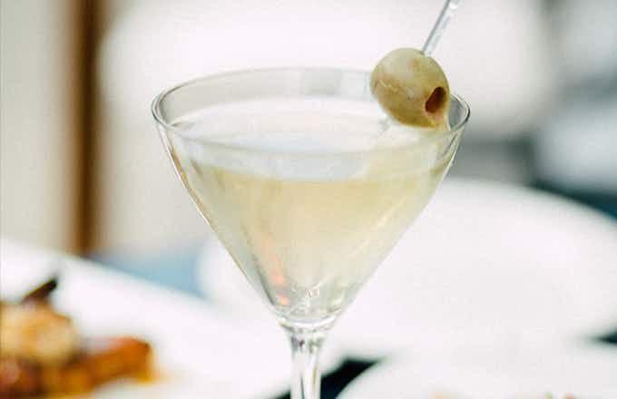 The Churchill Martini