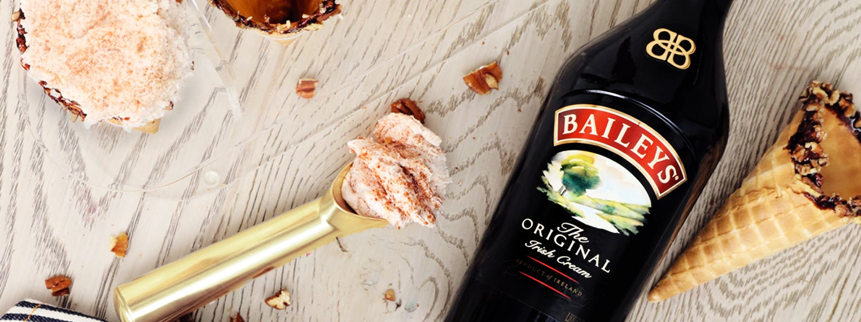 Baileys Over Ice Cream