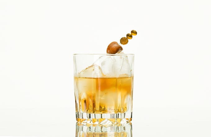 Salted Caramel Old Fashioned