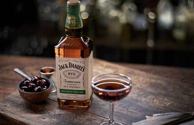 Jack Daniel's Tennessee Rye Manhattan