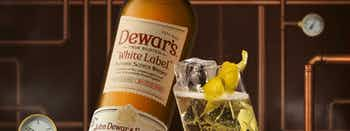 The Dewar's White Label Hightball