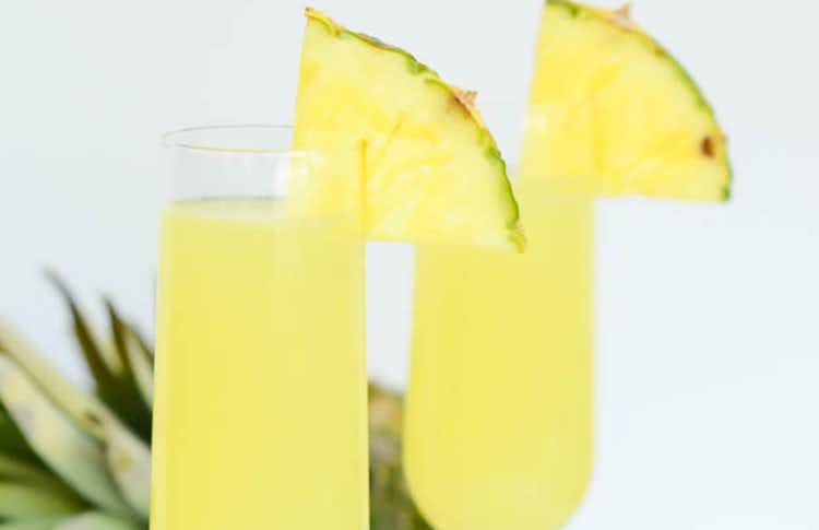 Tropical Pineapple Lime Faux-mosa