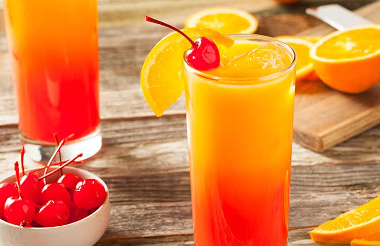Tequila Sunrise Recipe Drizly