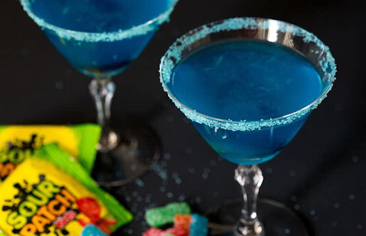 Sour Patch Kids Vodka Martini