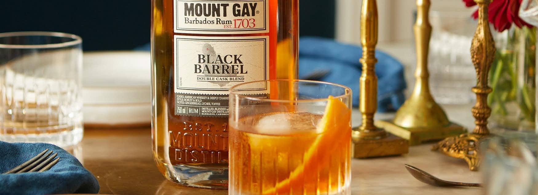 Mount Gay Rum Old Fashioned