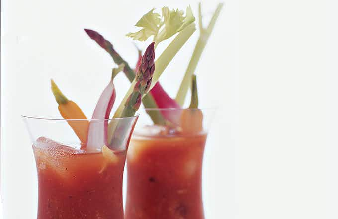 Food & Wine Zee Spotted Pig Bloody Mary