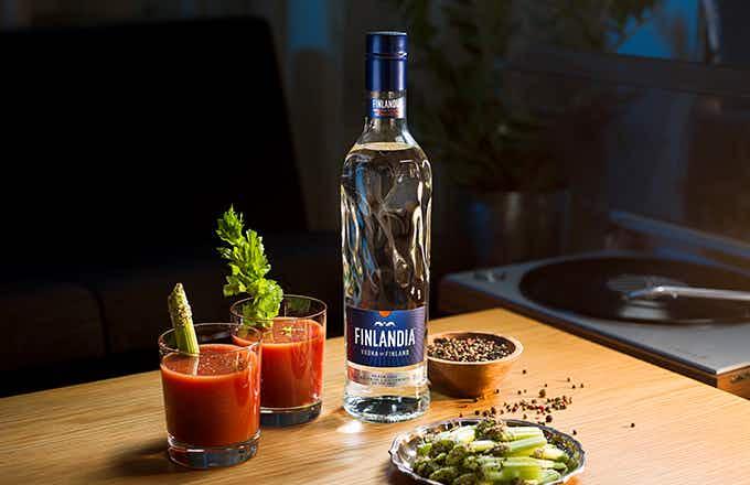 Finlandia Bloody Mary