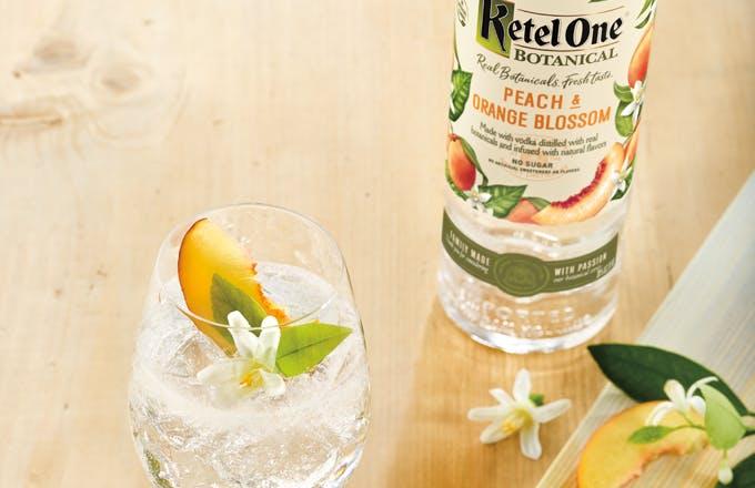Ketel Botanical Peach and Soda