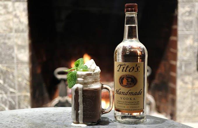 Tito's Hot Chocolate