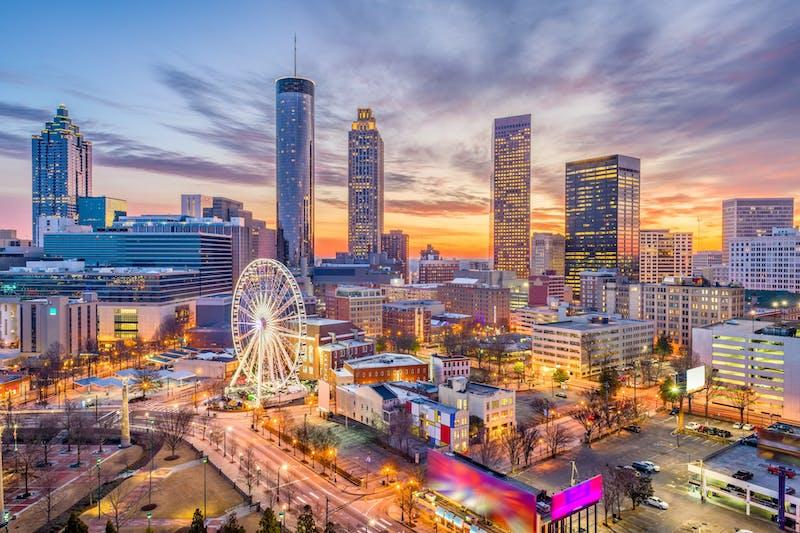 Atlanta, Georgia Skyline - Evening